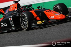 松下信治、FIA F2ソチ戦を前にMPモータースポーツを離脱。後任にはHWAからジュリアーノ・アレジが加入