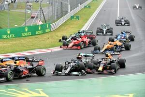 多重クラッシュ原因のボッタス「完全に僕の判断ミス」苦しい前半戦を象徴するレースに|F1ハンガリーGP