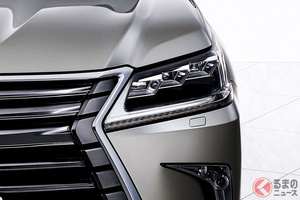 レクサス新型SUV「LX」6年ぶり全面刷新なるか!? トヨタ新型「ランクル300」登場で期待高まる
