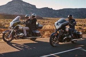 BMW Motorrad「R18トランスコンチネンタル/R18 B」公開 ハーレー/インディアンと真っ向勝負のドイツ製アメリカン・ツアラー登場