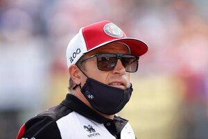 ライコネン「リリースを合図する信号にトラブルがあり、マゼピンと接触した」:アルファロメオ F1第11戦決勝