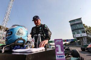 スプリント予選を制したボッタス「この速さがあれば最後尾から順位を上げていける」メルセデス/F1第14戦