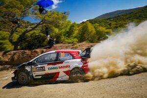 トヨタ、ロバンペラとオジエが1-3維持「最終日も楽しみな1日になりそうだ」とラトバラ/WRC第9戦