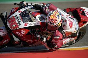 中上貴晶「全力で挑んで上位を目指す。チームのみんなと一緒に祝いたい」/MotoGP第13戦アラゴンGP予選