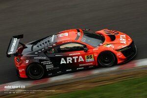 """タイヤを""""元に戻した""""ARTA NSX GT3がセクター4を武器に狙う逆転勝利。GT300上位勢の動向を探る【第5戦予選あと読み】"""