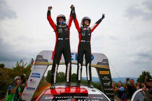 カッレ・ロバンペラが独走で今季2勝目。8年ぶり開催のWRC第9戦アクロポリス・ラリー制す