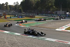 F1イタリアGP:スプリント予選はボッタス首位、フェルスタッペンがトップで決勝スタートへ。角田裕毅は16番手