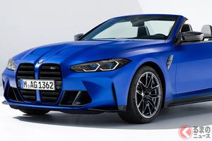 BMW新型「M4」にカブリオレ登場! 510馬力で4輪駆動のハイパーオープンスポーツ