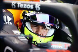 ペレス「スプリント予選ではオーバーテイクができなくて退屈」レッドブル・ホンダ/F1第14戦
