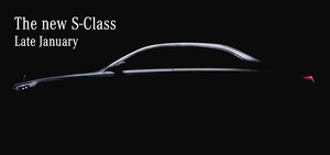 メルセデス・ベンツ日本、新型「Sクラス」をオンラインで1/28発表