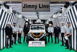 スズキ、インドで「ジムニー」生産開始 現行モデル初の海外生産 中南米・中東・アフリカへ