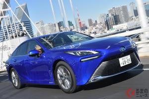 トヨタ新型「ミライ」は極上の乗り心地! 高級感ある仕上がりはレクサス以上だ!
