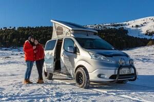 EVキャンパーという新たな提案 欧州日産がe-NV200のコンセプトカーを披露