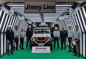 """スズキの至宝、""""世界のジムニー""""がインドでも生産・輸出を開始!"""