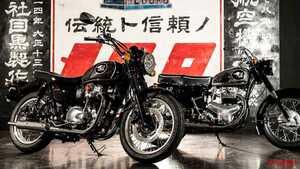 カワサキ「メグロK3(MEGURO K3)」正式発表! 銀鏡塗装タンクや空冷バーチカルツインで原点回帰