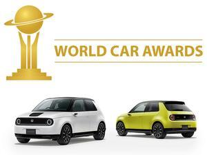 ホンダ eが2021年ワールド・カー・オブ・ザ・イヤーの部門賞「ワールド アーバン カー」を受賞