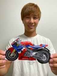 ST1000クラス参戦中の名越哲平 選手、ペーパークラフト完成しました! #紙CBR1000RRR