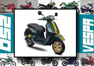 ベスパ「GTS SUPER 150 レーシング シックスティーズ」いま日本で買える最新250ccモデルはコレだ!【最新250cc大図鑑 Vol.044】-2020年版-