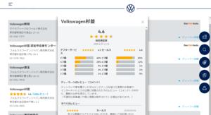 VWジャパン、正規ディーラーのCSスコアをHPで公開 カーアドバイザー採用