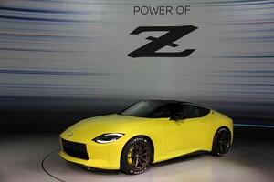 """初代""""Z""""をイメージ! 日産が次期「フェアレディZ」のプロトタイプを公開"""