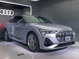 アウディがクーペフォルムの電動SUV「eトロン スポーツバック」を発売。航続可能距離は405km