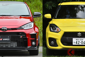 国産ホットハッチが熱い! トヨタ「GRヤリス」とスズキ「スイフトスポーツ」を徹底比較