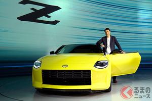 日産が新型「フェアレディZ」世界初公開! 12年ぶり全面刷新で歴代Zを継承したデザインに