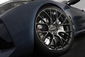 【BMWカスタマイズ最前線 2020】「ボルクレーシング G16 BC/C」新提案カブリオレを支える美しく拡がる16本スポーク