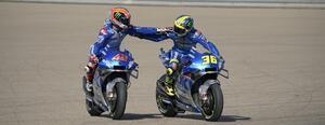 <MotoGP> アラゴンGP01はスズキDay!~リンス今シーズン初優勝! ミルがランク首位に!