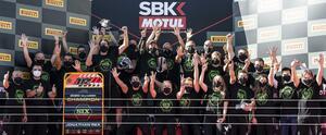 <WSBK> ジョナサン・レイ 6年連続ワールドチャンピオン!カワサキは23年で8度目の世界タイトルを獲得!