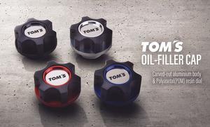 「エンジンルームにトムスのスピリッツを!」レーシングが息づくオイルフィラーキャップ登場