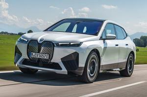【新フラグシップSUV】BMW iX xドライブ50へ試乗 総合523ps 新基準の洗練性 前編