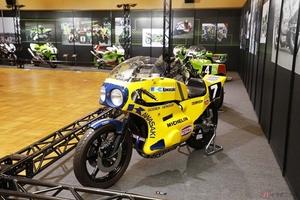 """「カワサキワールド」モーターサイクル企画展 """"THE CHAMP""""~頂点に輝いたマシンたち~ 幻の2020年鈴鹿8耐用マシンなどを展示"""