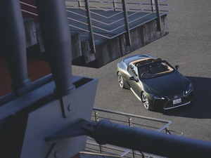 ジャパンラグジュアリーここにあり LEXUS LC500 Convertible【Car as Art !】