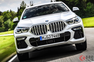 燃費向上! BMW「X5/X6/X7」ディーゼルモデルに48Vマイルド・ハイブリッドを搭載