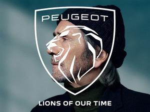 ライオンが咆哮する!プジョーが新ブランド・アイコンを採用