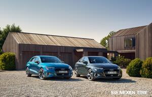 新型アウディA3ファミリーの新車装着用タイヤをネクセンタイヤが供給