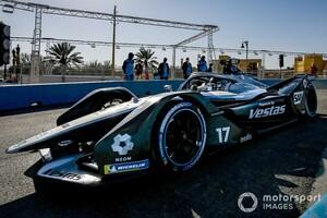 フォーミュラEディルイーヤePrixレース1予選:デ・フリーズがポールポジション。ここまで全セッション首位の圧巻! キャシディ不運