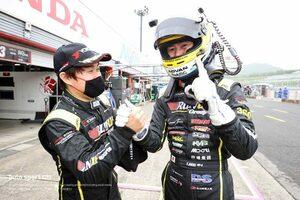 RUNUP RIVAUX GT-Rがトップタイムの奪い合いを制して初ポール獲得【第4戦もてぎGT300予選】