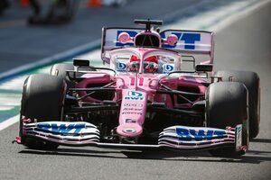 FP2でライコネンと接触したペレス、1グリッド降格ペナルティが決定【F1第9戦】