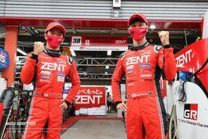 立川祐路が最多記録を更新。ZENT GRスープラが難コンディションで今季初ポール獲得【第4戦もてぎGT500予選】