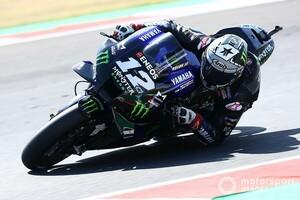 """MotoGPサンマリノ予選:ヤマハ勢が予選""""制圧TOP4""""。ビニャーレス、レコード更新でポール獲得!"""