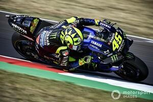 """MotoGPサンマリノFP3:ロッシ""""41歳""""、地元戦でトップタイム! ヤマハ勢がトップ3に並ぶ。中上貴晶は総合13番手でQ1行き"""