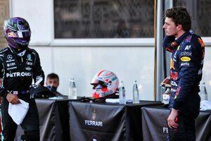 フェルスタッペン「僕がメルセデスF1に乗ればルイスより0.2秒速く走れる」マシンの優位性への指摘に反発