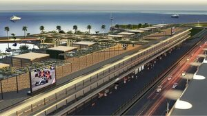 F1初開催まであと半年。サウジアラビアGPのオーガナイザーがピットビルディングの画像を公開