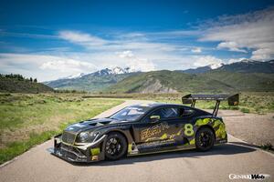 再生燃料で3度目の栄冠に挑戦! ベントレー コンチネンタル GT3 パイクスピークが現地テストを敢行