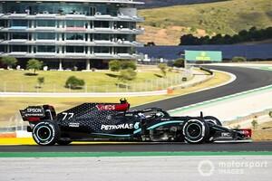 F1ポルトガルFP1:メルセデスがワンツー。レッドブル・ホンダのフェルスタッペン、フェラーリのルクレールが続く