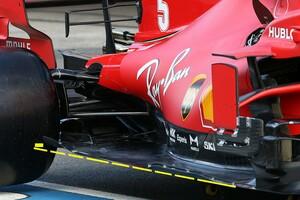 フェラーリ、F1ポルトガルGPのフリー走行で2021年仕様フロアを先行テスト