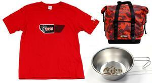 「CT125・ハンターカブ」のホンダ公式グッズが出たーっ!! Tシャツ・防水バッグ・シェラカップまで一挙に発売