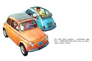 【知られざるクルマ】 Vol.10 イタリア製じゃないフィアット500……ネッカーとシュタイア・プフの500
